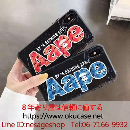 AAPE iPhone11 Proケース 四角保護