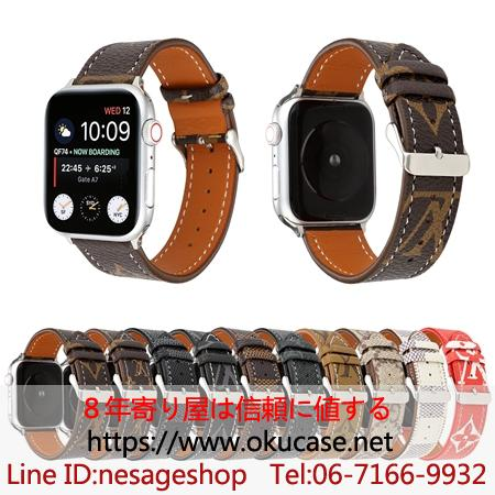 Louis Vuitton Apple Watch ベルト交換